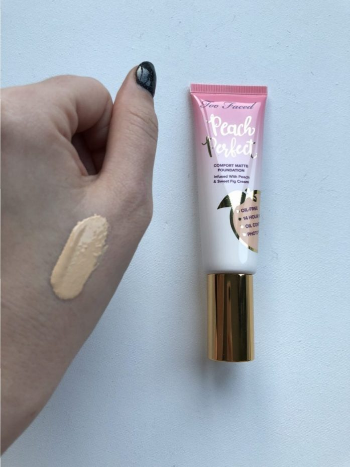 peach foundation