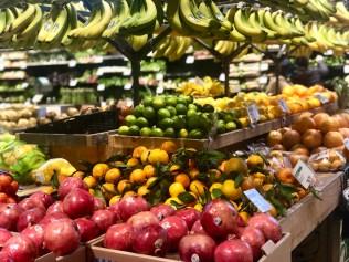 gravitating towards vibrant food