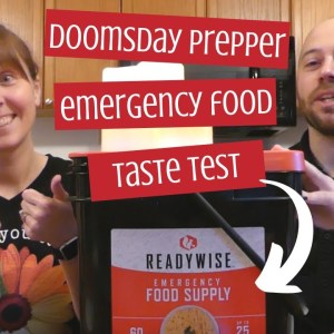 ReadyWise Emergency Food Supply Taste Test Review - Doomsday Prepper Meals