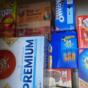 Emergency Prepper Pantry Snacks Dark Winters Ahead