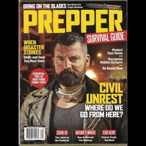 Prepping While Elderly, New Article in Prepper Survival Guide Magazine. Winter 2020.