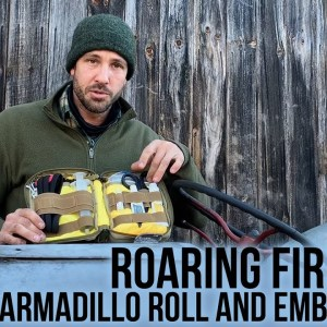 Roaring Fire Gear Armadillo Mini Tool Roll Bag and Ember Pro Packs