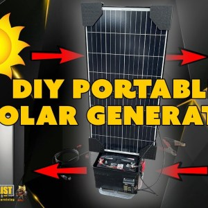 How to Build a DIY Portable Solar Generator (Updated)