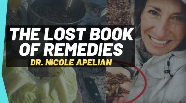 Dr Nicole Apelian The Lost Book Of Remedies||Survival Book 📙 You Must Need 🔥
