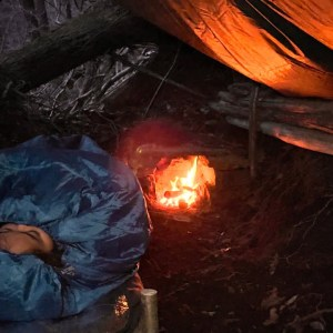 SURVIVAL CAMPING in UNDERGROUND BUNKER - Emergency BUSHCRAFT Natural Shelter BUILD - SOLO OVERNIGHT