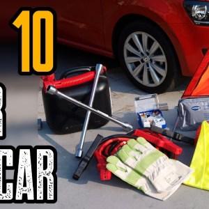 TOP 10 BEST CAR EMERGENCY GEAR FOR SURVIVAL KIT