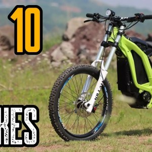 TOP 10 ELECTRIC DIRT BIKES | BEST DIRT E-BIKES 2021