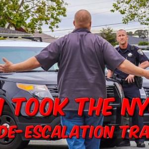 I Took The NYC De-Escalation Training