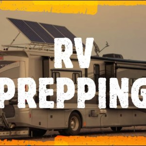 RV DOOMSDAY PREPPER?!? Food Storage Hacks for Small Spaces and Quarantine. Fresh to Freeze Dried...