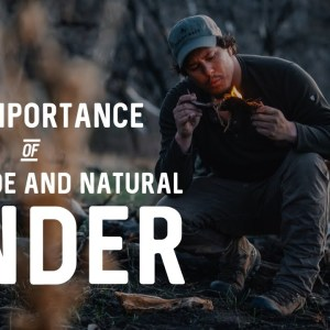 Survival Skills: The Best Tinder for Starting a Fire