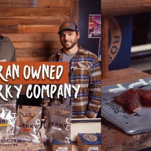 Veteran Owned Beef Jerky Company - Nate Kouhana of Anthem Snacks