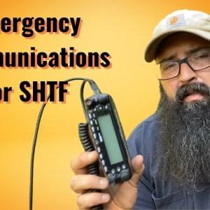 Emergency Communications for SHTF