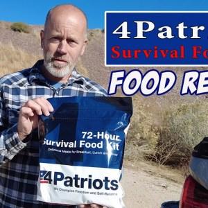 FOOD REVIEW : 4 Patriot 72-hour Survival Food Kit : Creamy Rice & Vegetable Dinner
