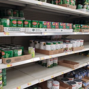 food shortage, price increases, prepper pantry top off. LOTS OF HOLES (pic)