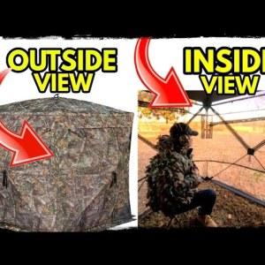 Military Technology: See Through Camo | Rhino 180 Blind