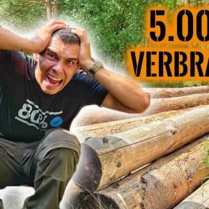 KATASTROPHE! - 5.000€ einfach verbrannt.. XXL Shelter steht auf der Kippe | Survival Mattin