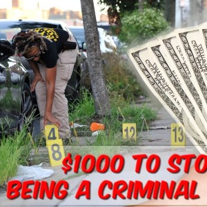 $1,000 To Stop Being A Criminal In NYC!