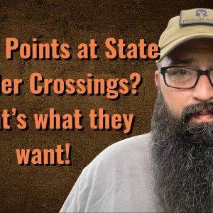 Check Points at State Border Crossings? That's what they want.