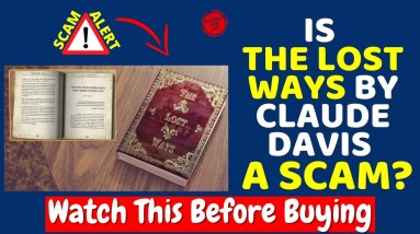 The Lost Ways Review ⚠️BEWARE❌ Don't Buy The Lost Ways By Claude Davis Before Watching This Video!