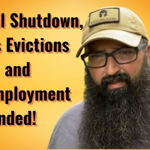 Gulf Oil Shutdown, Mass Evictions and Unemployment ended!