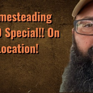Homesteading EXPO Special!! On location!