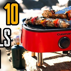 Top 10 Best Portable Grills for Camping & Outdoor On Amazon