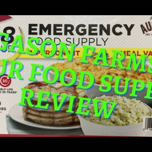 AUGASON FARMS 48 HOUR FOOD SUPPLY REVIEW  {} PREPPER FOOD SUPPLY