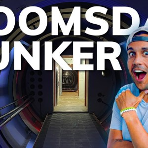 CAMPING AT A DOOMSDAY BUNKER IN ARKANSAS (Full Tour) #RVlife