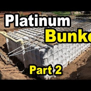 Finishing out a $500,000 Luxury PLATINUM SERIES Doomsday Bunker