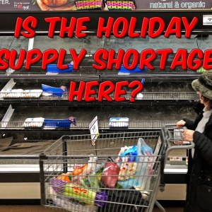 Is The Holiday Supply Shortage Here?