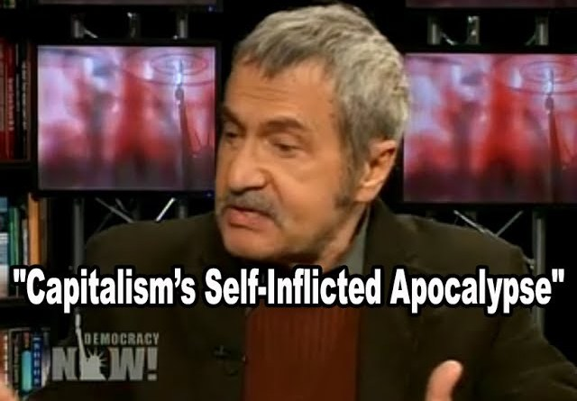 "Economic Crisis the Inevitable Result of ""Capitalism's Self-Inflicted Apocalypse"" - Michael Parenti"