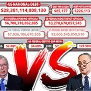 Economic collapse Government to Shutdown Sept 30th US Debt default on the horizon Dollar Devaluation