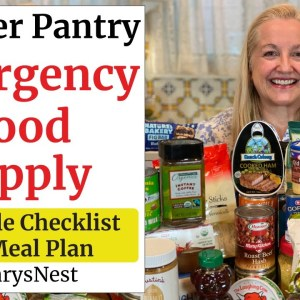 The Easy Way to Build a 2-Week Emergency Food Supply