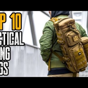 TOP 10 BEST TACTICAL SLING BAGS FOR EDC