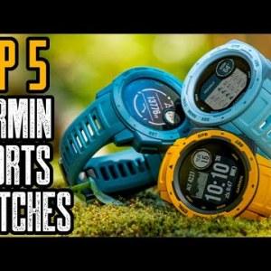 TOP 5: Best Garmin Watch For Running & Sports