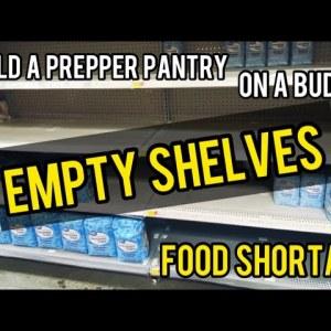 20  Prepper Food Ideas | Empty Shelves | Food Shortage | Walmart Walkthrough