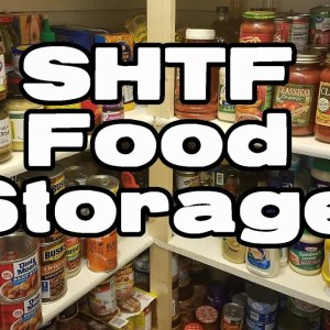Food Storage - Prepping for SHTF - My Personal Storage