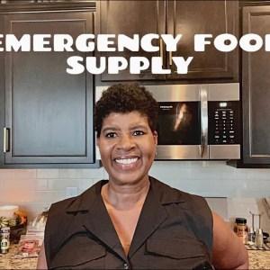 PREPPER PANTRY | RESTOCKING MY EMERGENCY FOOD SUPPLY | TRADER JOES GROCERY HAUL #preps #traderjoes