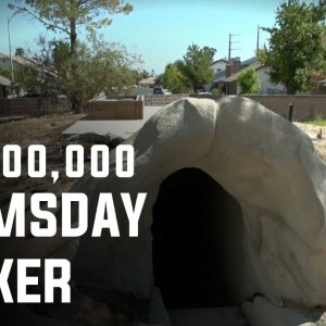 Inside $18,000,000 Luxury Doomsday Bunker