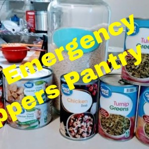 Preppers Pantry Crock Pot Meals  Cooking For Family Of 5 From Emergency Preps   Prepper Pantry Meal