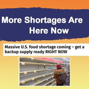 More Shortages are Here Now - Start Prepping Before It Is Too Late