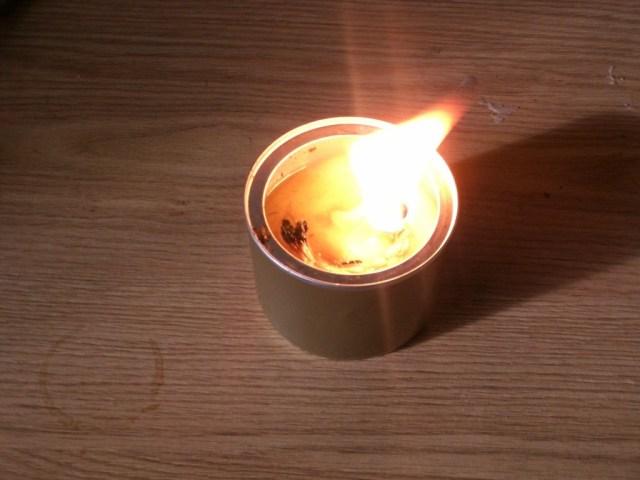 Hamburger Candle