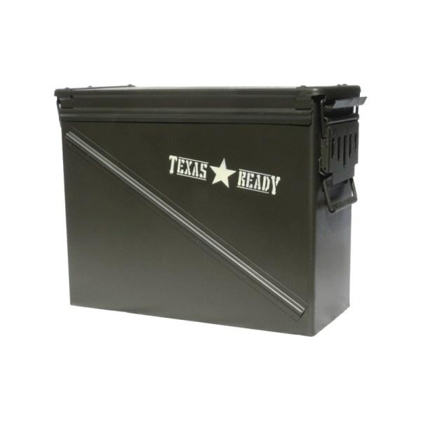 Texas Ready The Treasury survival seed bank