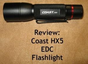 Coast HX5 - Cover
