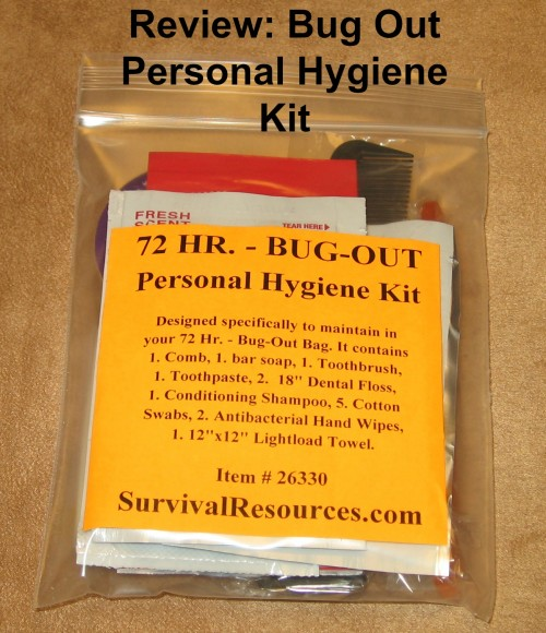 46882e8778 Bug Out Personal Hygiene Kit