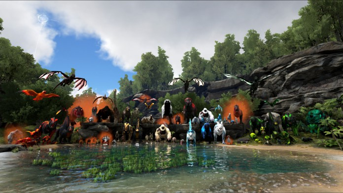 ARK Survival Evolved Die Annunaki Genesis Mod