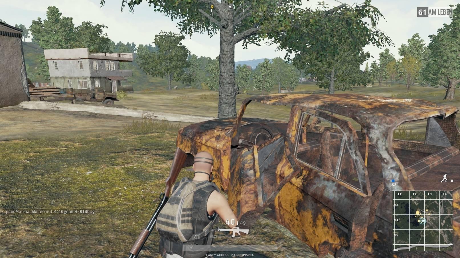 PlayerUnknown's Battlegrounds Tipps bluehole brendan greene Defensiv