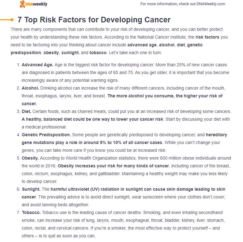 Global Cancer Statistics and Risk Factors