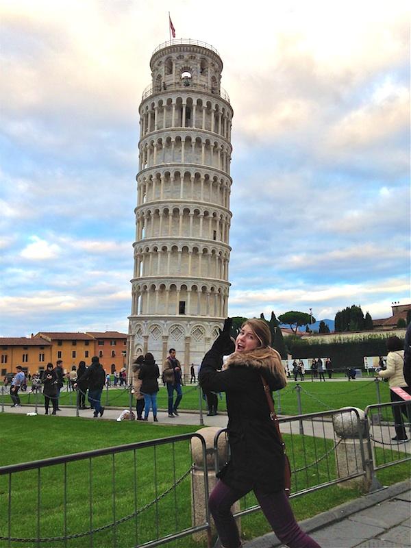 Me in Pisa 1