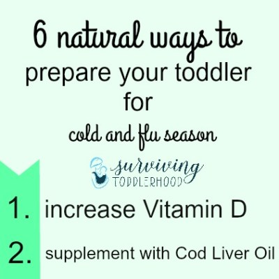 6 Natural Ways to Prepare Your Toddler For Cold and Flu Season
